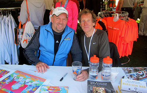 Andy Yelenak and Bill Rodgers